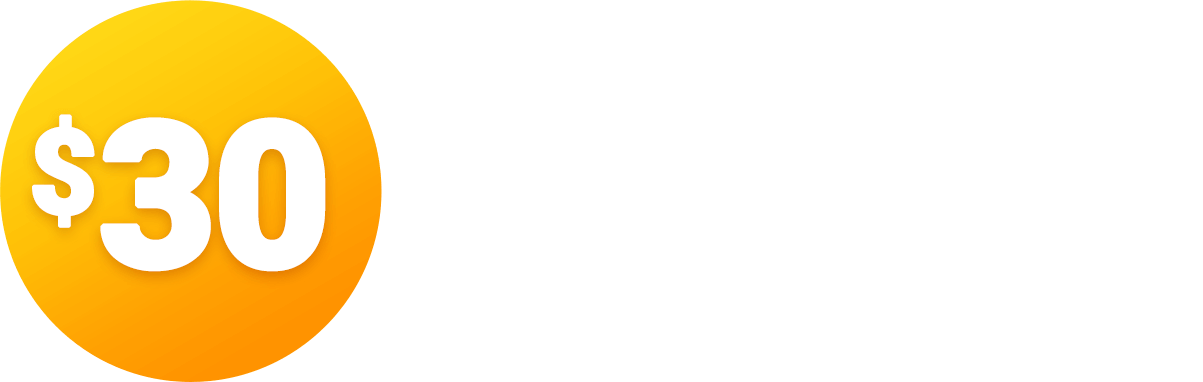 Claim your instant $30 Reward!
