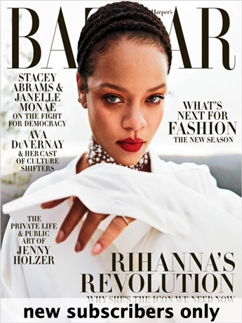 Harper's BAZAAR magazine is world-renowned as the arbiter of fashion and good taste. Every issue of Harper's BAZAAR speaks to the varied interests of the discerning contemporary woman who seeks the best for her home, career and lifestyle.