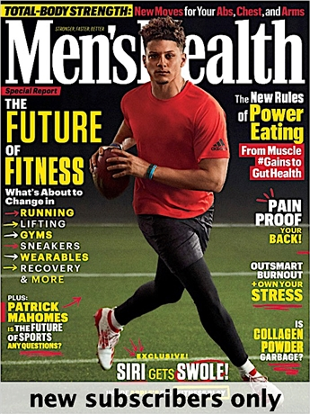 Men's Health is an essential read for individuals who want to look, feel and live better. Men's Health is loaded with complete instructions for mastering the world's greatest exercises and trusted, informative tips on how to cook healthier.