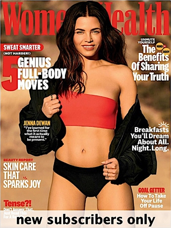 Women's Health is for the woman who sees being healthy-physically and emotionally-as her edge. It is a magazine that helps women stay on pace in their lives with practical advice on nutrition, fitness, sex and relationships, style and beauty and much more.
