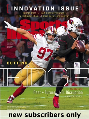 Sports Illustrated is packed with complete coverage of all your favorite sports, including the World Series, the Super Bowl, The NBA Championship, the Final Four, the Olympics and more. Get in the game with Sports Illustrated!