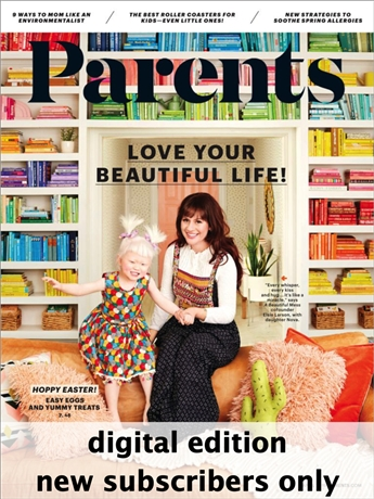 Parents is dedicated to the everyday concerns faced by today's parents. Columns and regular features address family development, manners and behavior, product reviews, health and safety issues as well as the necessity of taking time for yourselves.