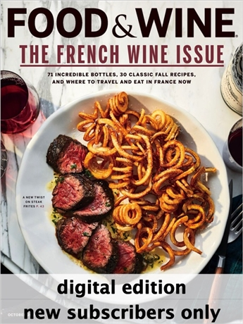 Food & Wine magazine celebrates life's most sensuous and luxurious pleasures. Every issue of Food & Wine is packed with dozens of delicious recipes, the best wines and everything else you need to know to pursue the ultimate in fine living. All accompanied by beautiful color pictures that make the food, wine and luxury come to life. Enjoy the very best of fine living right now with Food & Wine!