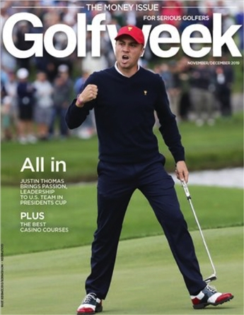 Golfweek delivers unmatched depth of coverage and unique expert analysis – plus more than a little fun – for the serious golfer. Golfweek brings you closer to the game you love by telling the stories you'll find nowhere else. It's newly redesigned, expanded, and delivered monthly to your mailbox --plus you'll get two special issues per year.